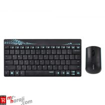 Rapoo 8000 Wireless Keyboard Mouse mr-haraji.com